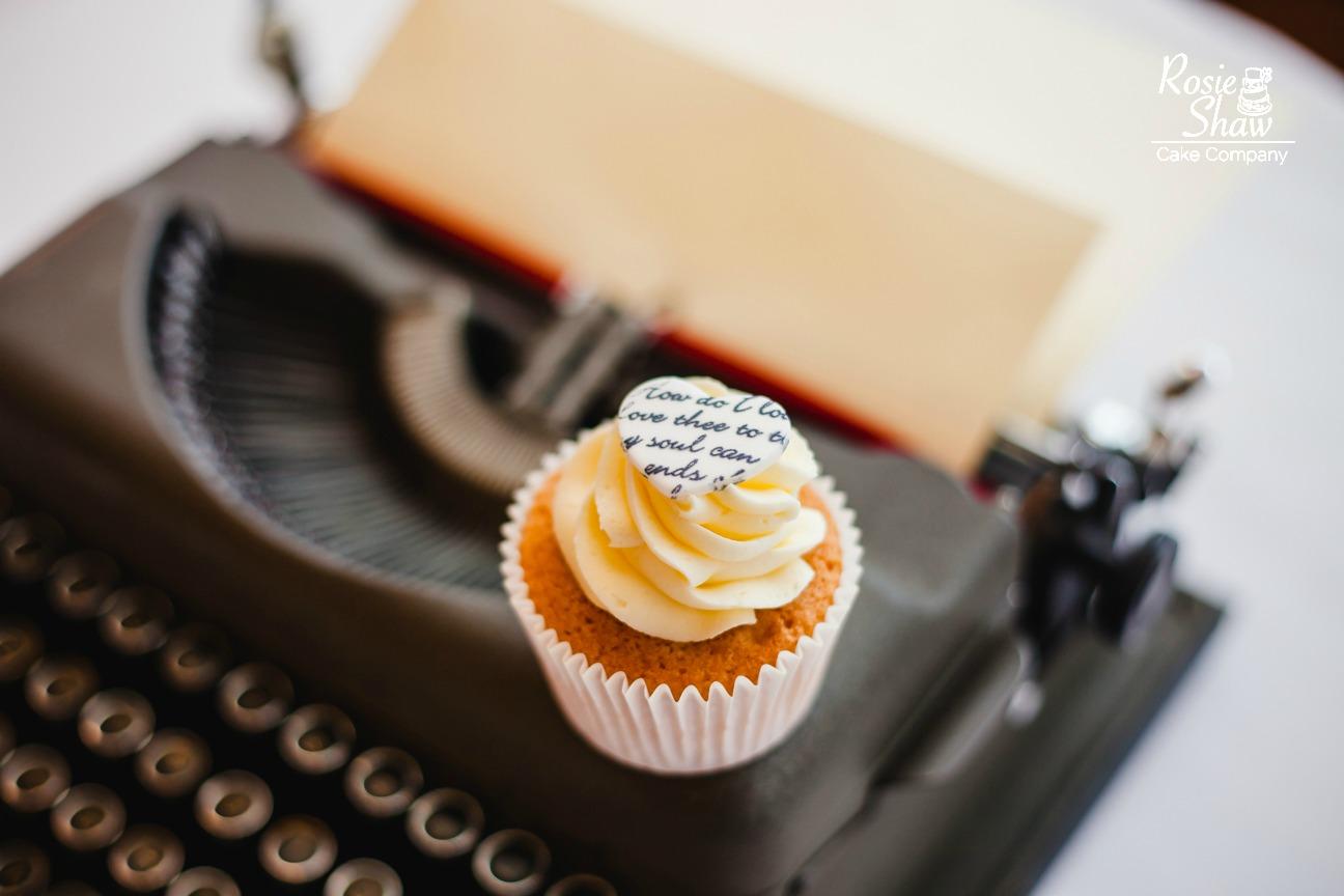 Birthday Cake Typewriter