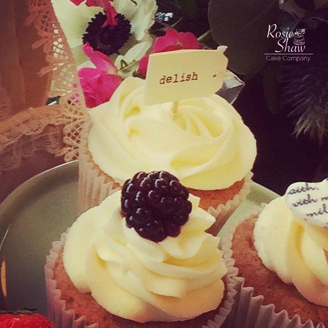 Fresh Fruit Cupcake