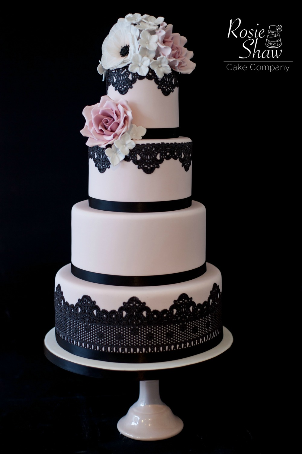 black lace wedding cakes black lace wedding cake by rosie shaw bristol 11869